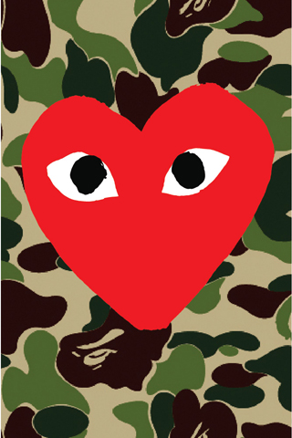 Comme Des Garcons Iphone 5 Wallpaper